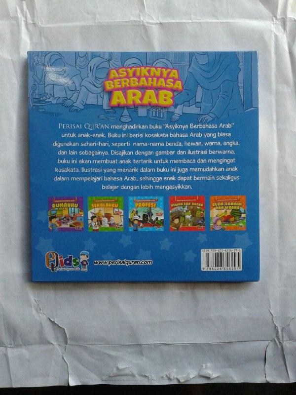 Buku Anak Asyiknya Berbahasa Arab Mengenal Kosa Kata Bahasa Arab cover 2