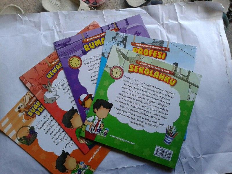 Buku Anak Asyiknya Berbahasa Arab Mengenal Kosa Kata Bahasa Arab cover 4