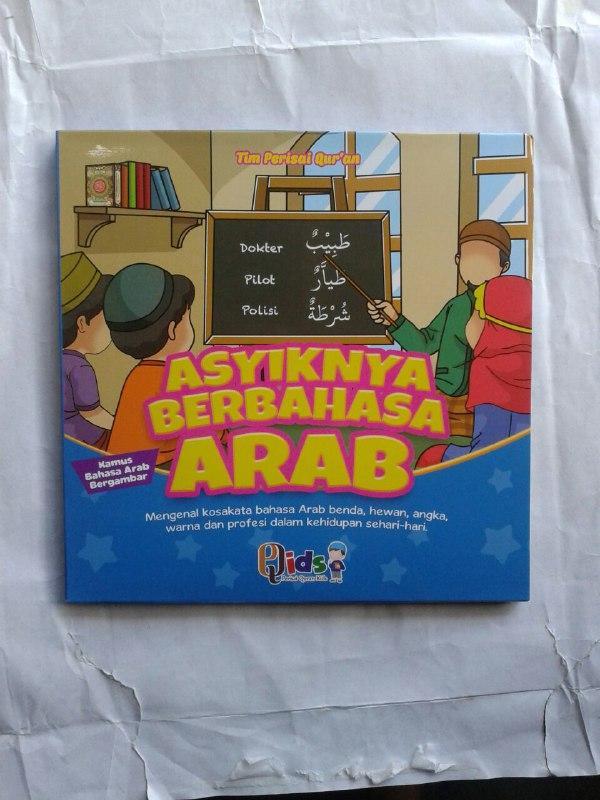 Buku Anak Asyiknya Berbahasa Arab Mengenal Kosa Kata Bahasa Arab cover