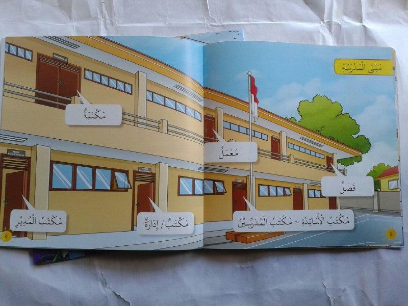Buku Anak Asyiknya Berbahasa Arab Mengenal Kosa Kata Bahasa Arab isi 2