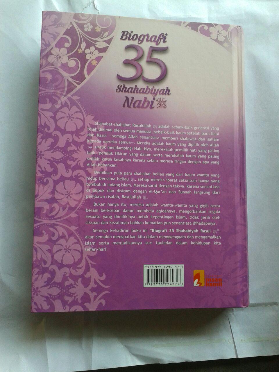 Buku Biografi 35 Shahabiyah Nabi Shallallahu Alaihi wa Sallam cover 2
