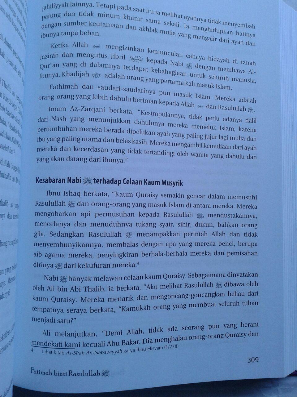Buku Biografi 35 Shahabiyah Nabi Shallallahu Alaihi wa Sallam isi