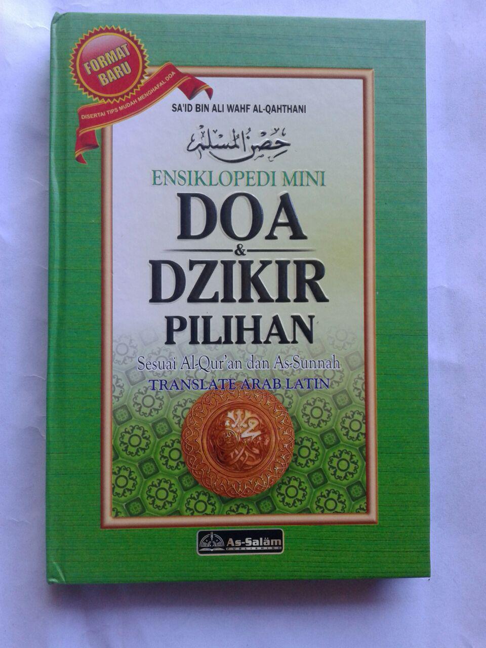 Buku Hisnul Muslim Ensiklopedi Mini Doa & Dzikir Pilihan cover
