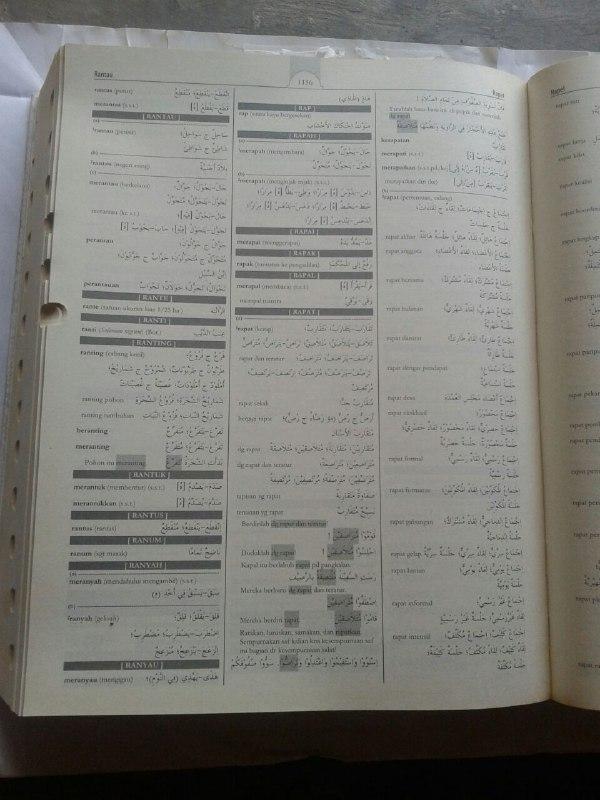 Buku KABA Kamus Akbar Bahasa Arab (Indonesia-Arab) isi