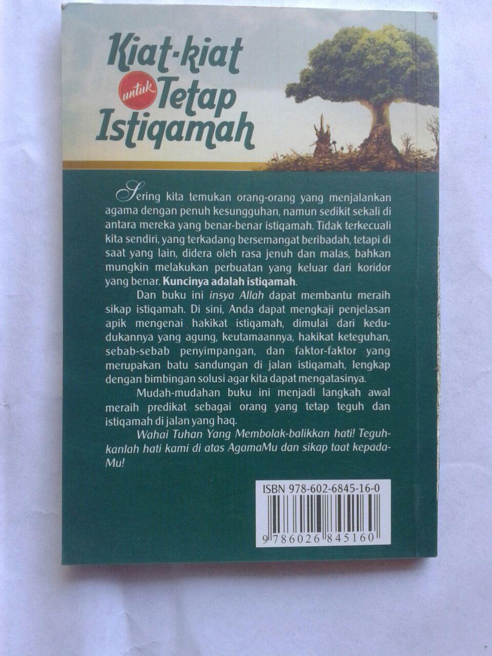 Buku Kiat Kiat Untuk Tetap Istiqamah cover 2