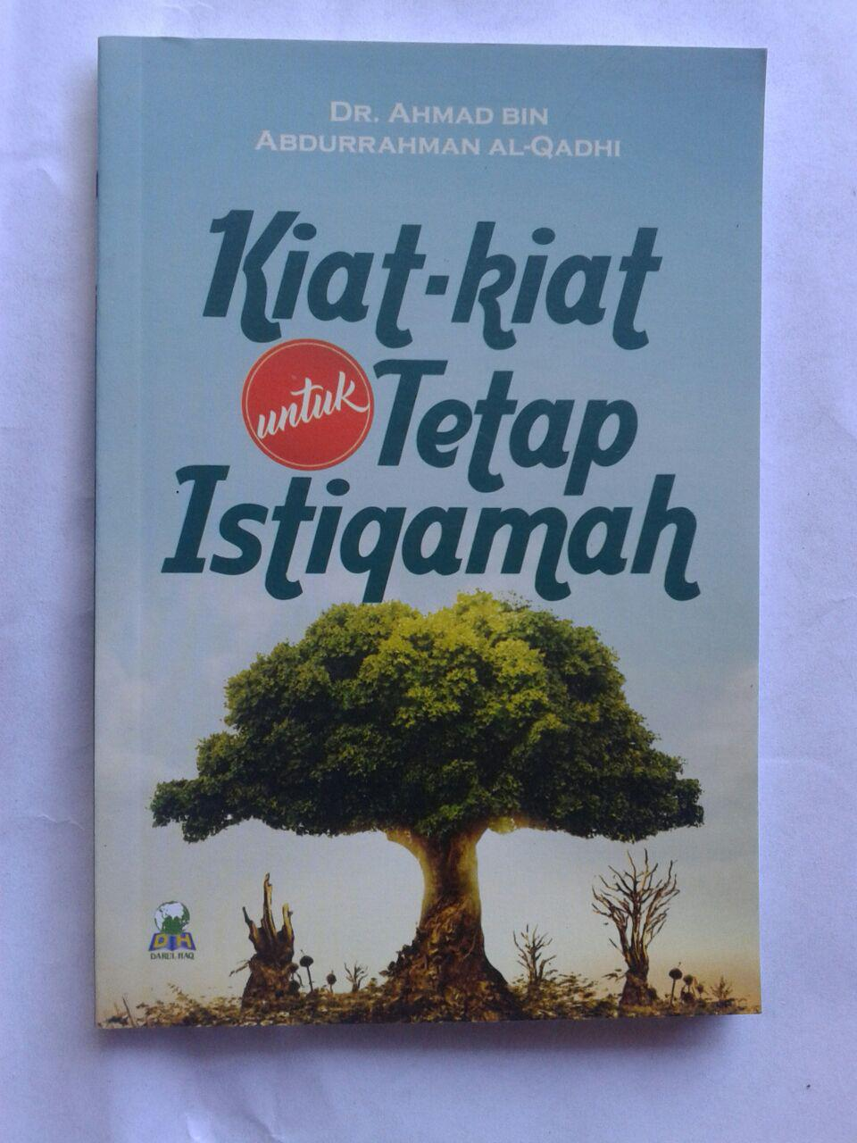 Buku Kiat Kiat Untuk Tetap Istiqamah cover