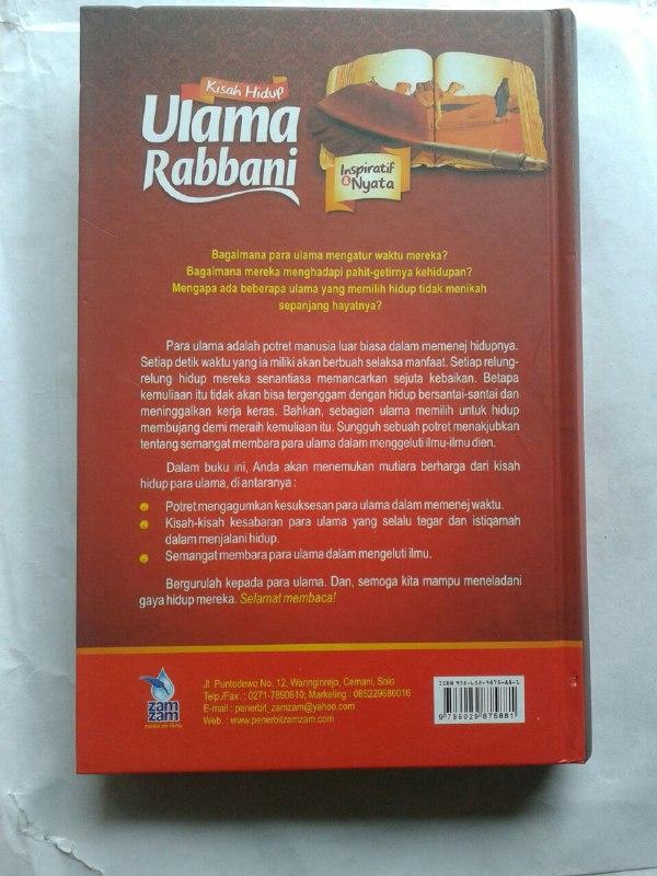 Buku Kisah Hidup Ulama Rabbani cover 2