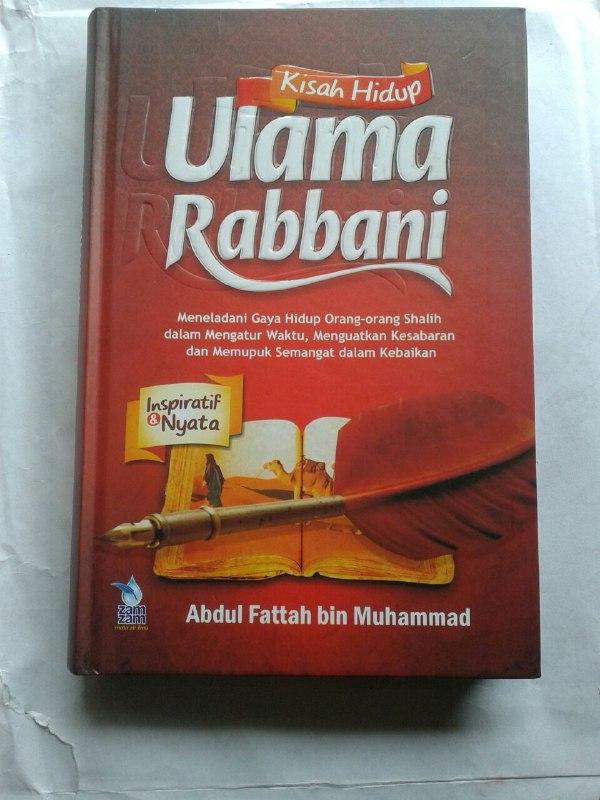Buku Kisah Hidup Ulama Rabbani cover