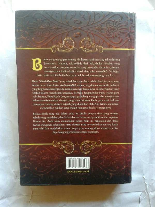 Buku Kisah Para Nabi cover 2