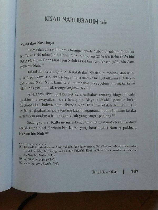 Buku Kisah Para Nabi isi 2