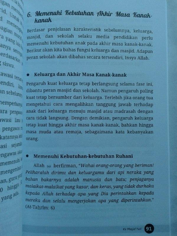 Buku Mendidik Anak Laki Laki Menyiapkan Generasi Islam Yang Unggul isi