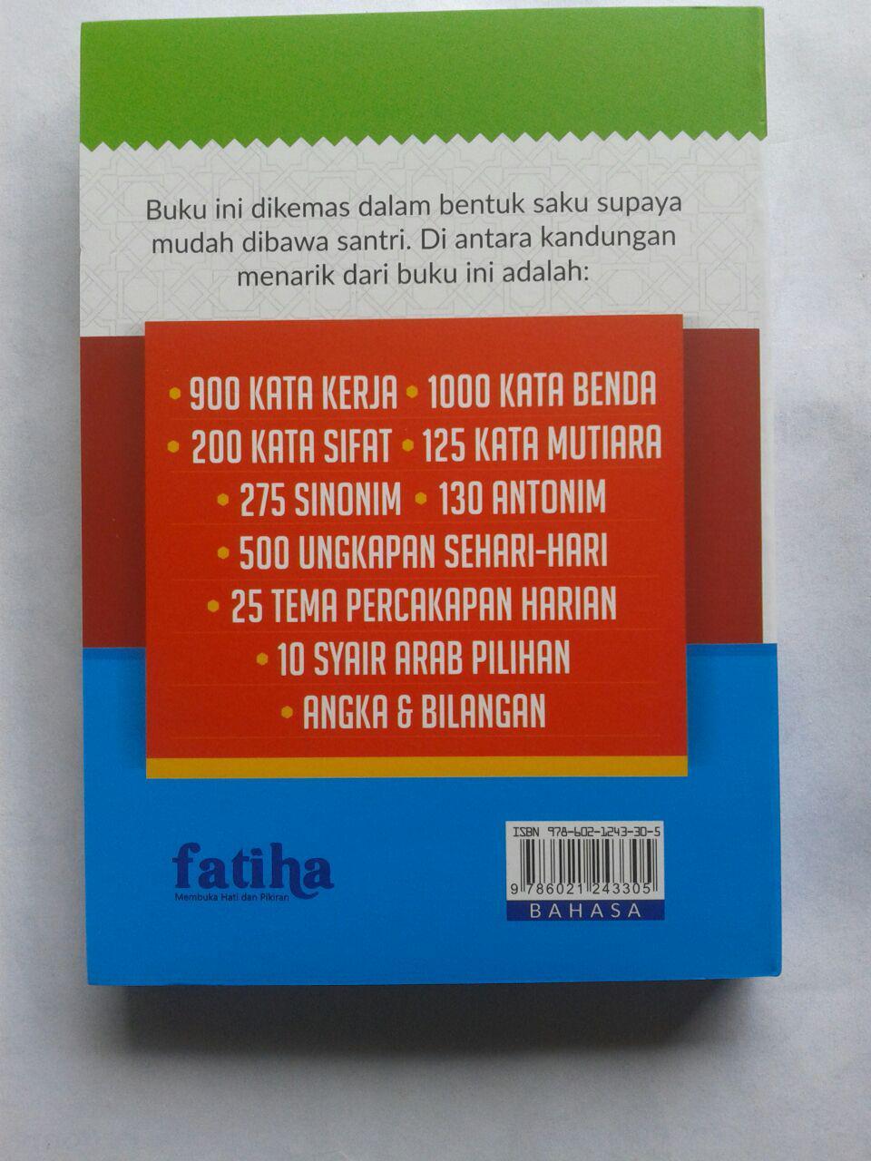 Buku Saku Kamus Santri Hebat Cepat Menguasai Bahasa Arab cover 2
