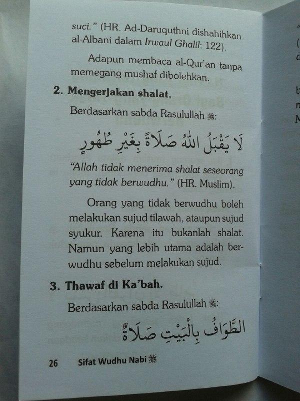 Buku Saku Sifat Wudhu Nabi isi 2