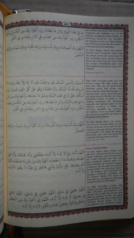 Al-Qur'an Mushaf Terjemah & Tajwid Al-Mahir Resleting Ukuran A5 isi 2