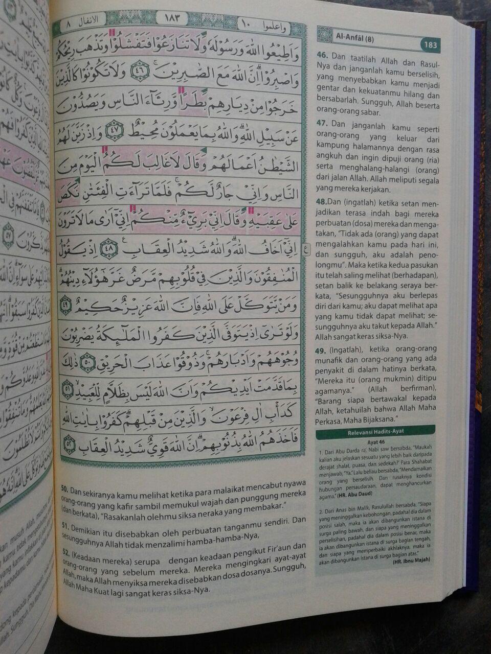 Al-Qur'an Dan Terjemah Dilengkapi Panduan Waqaf Dan Ibtida isi 2