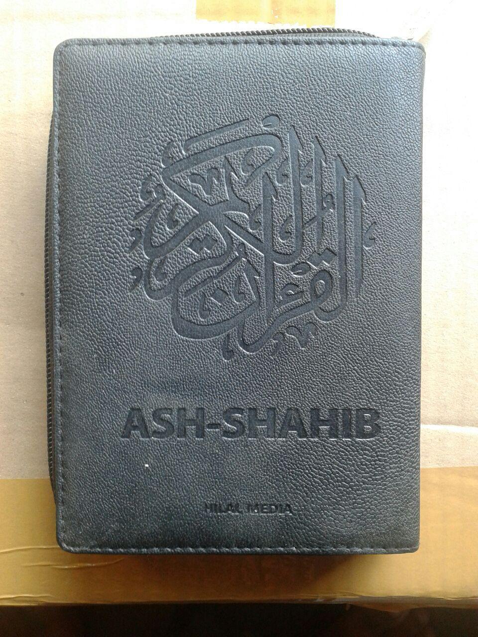 Al-Qur'an Terjemah Resleting Ash-Shahib Ukuran A6 cover 2