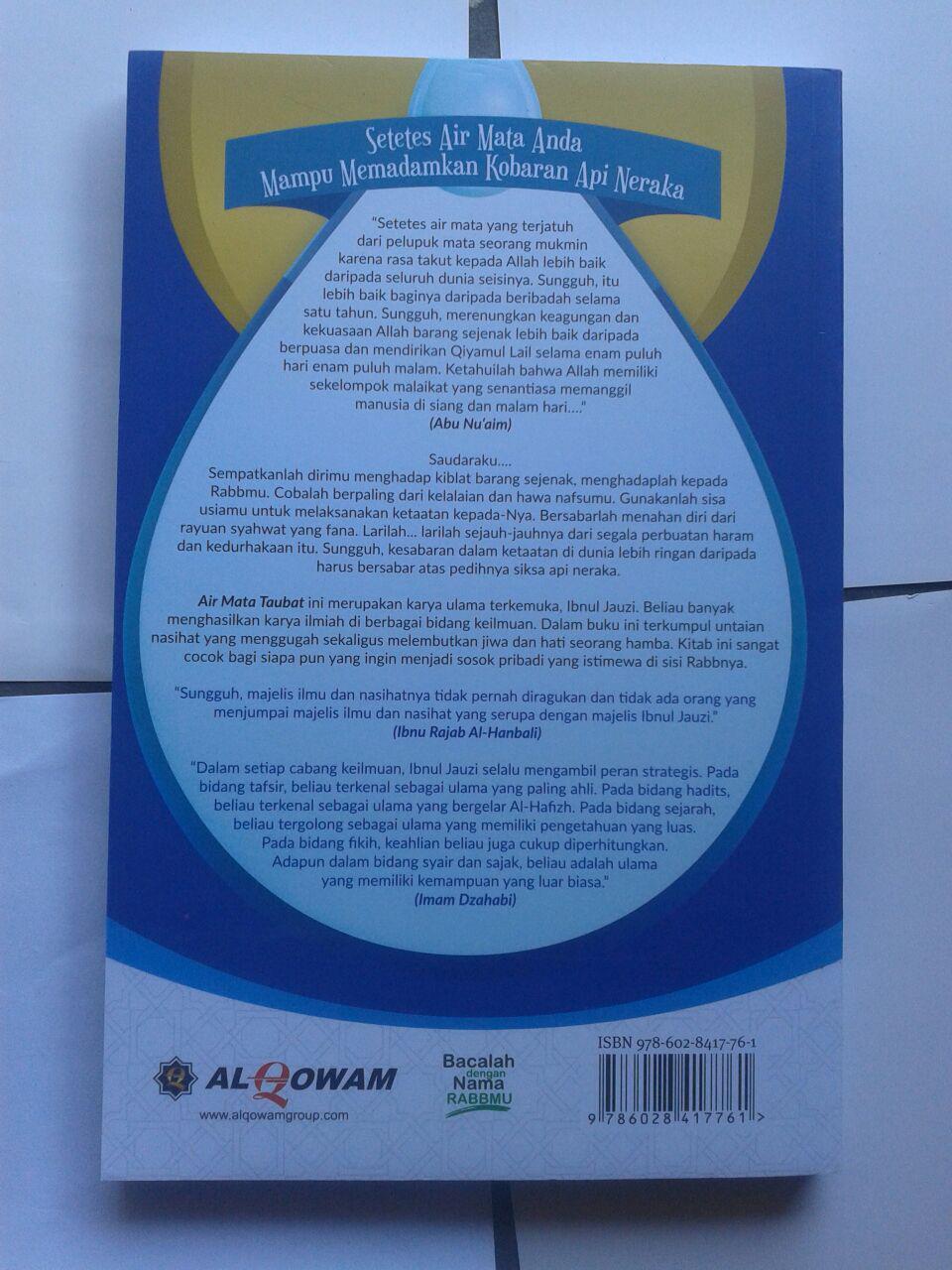 Buku Air Mata Taubat Nasihat-Nasihat Pelembut Jiwa cover 2