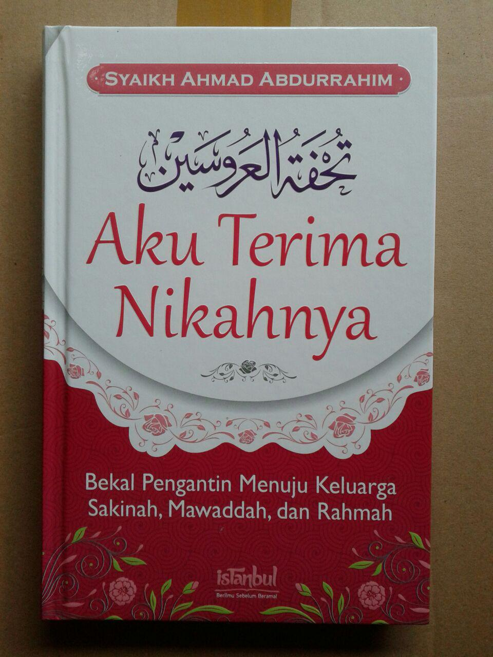 Buku Aku Terima Nikahnya cover