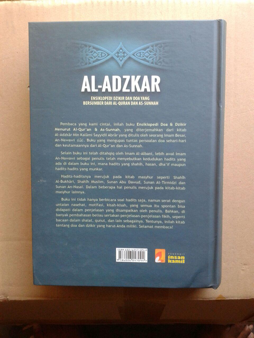 Buku Al-Adzkar Ensiklopedi Dzikir Dan Doa cover 2