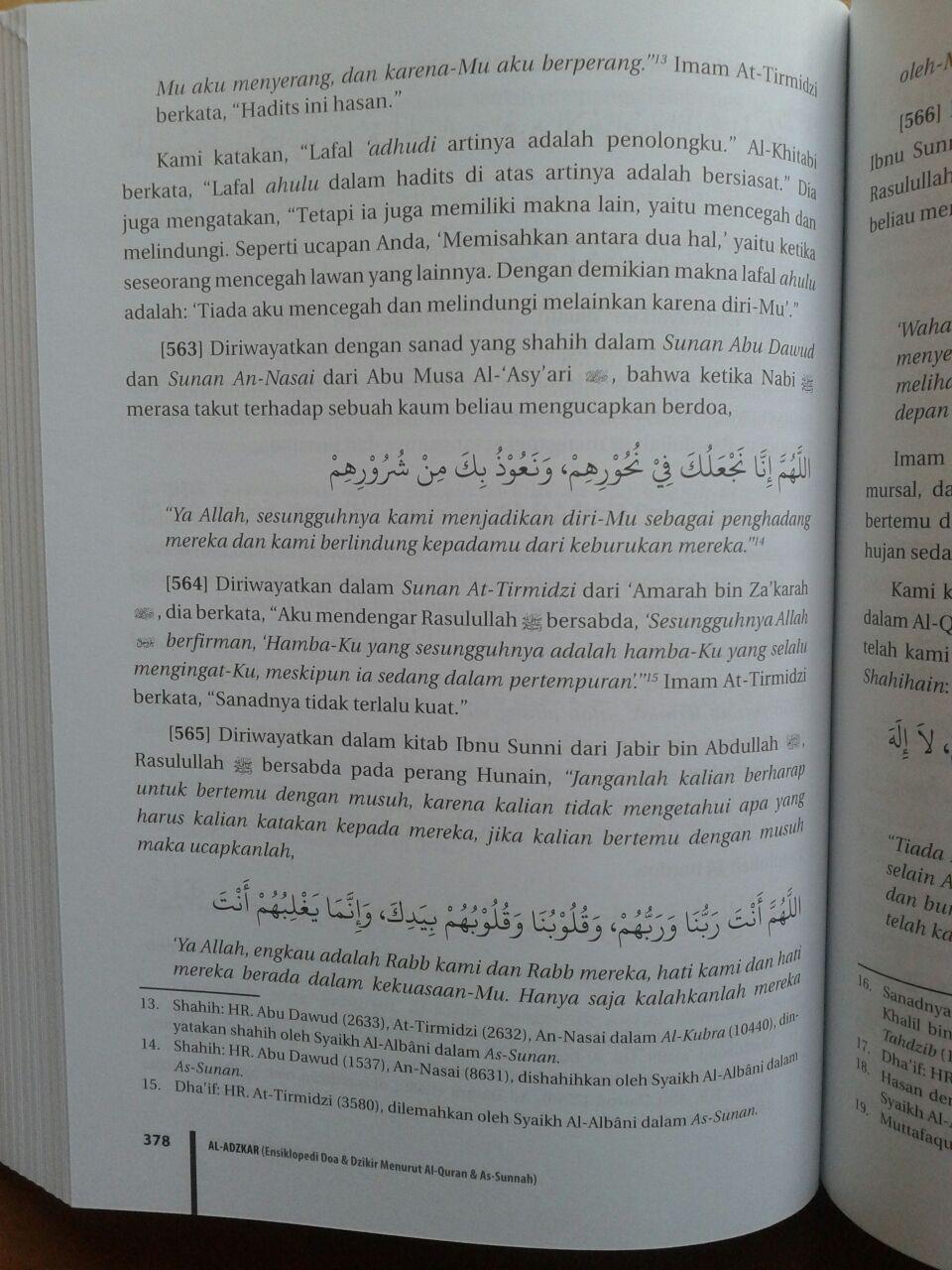 Buku Al-Adzkar Ensiklopedi Dzikir Dan Doa isi