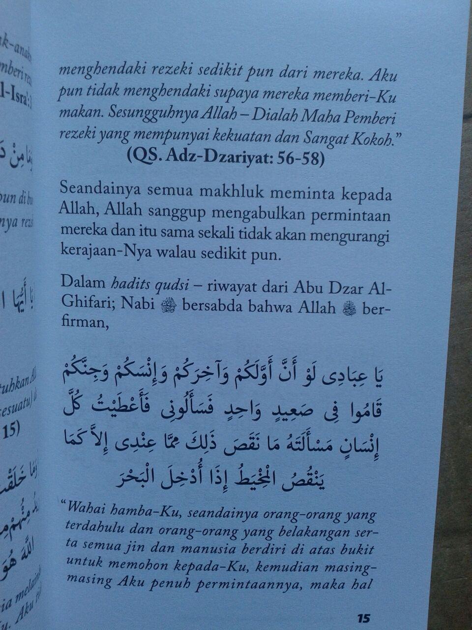 Buku Amalan Pembuka Pintu Rezeki Dan Kiat Memahami Rezeki isi 2