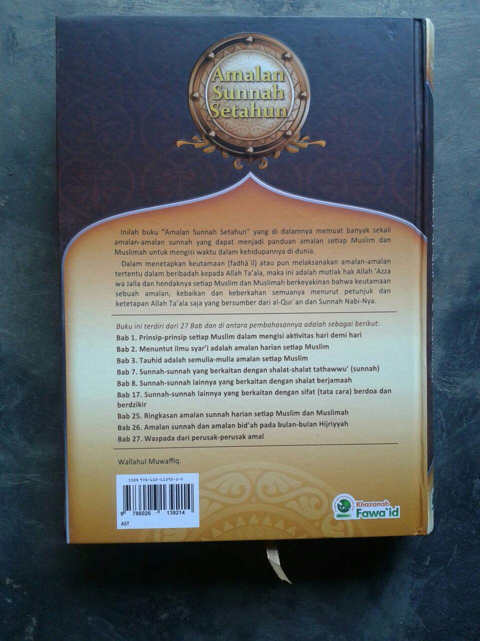 Buku Amalan Sunnah Setahun cover 2