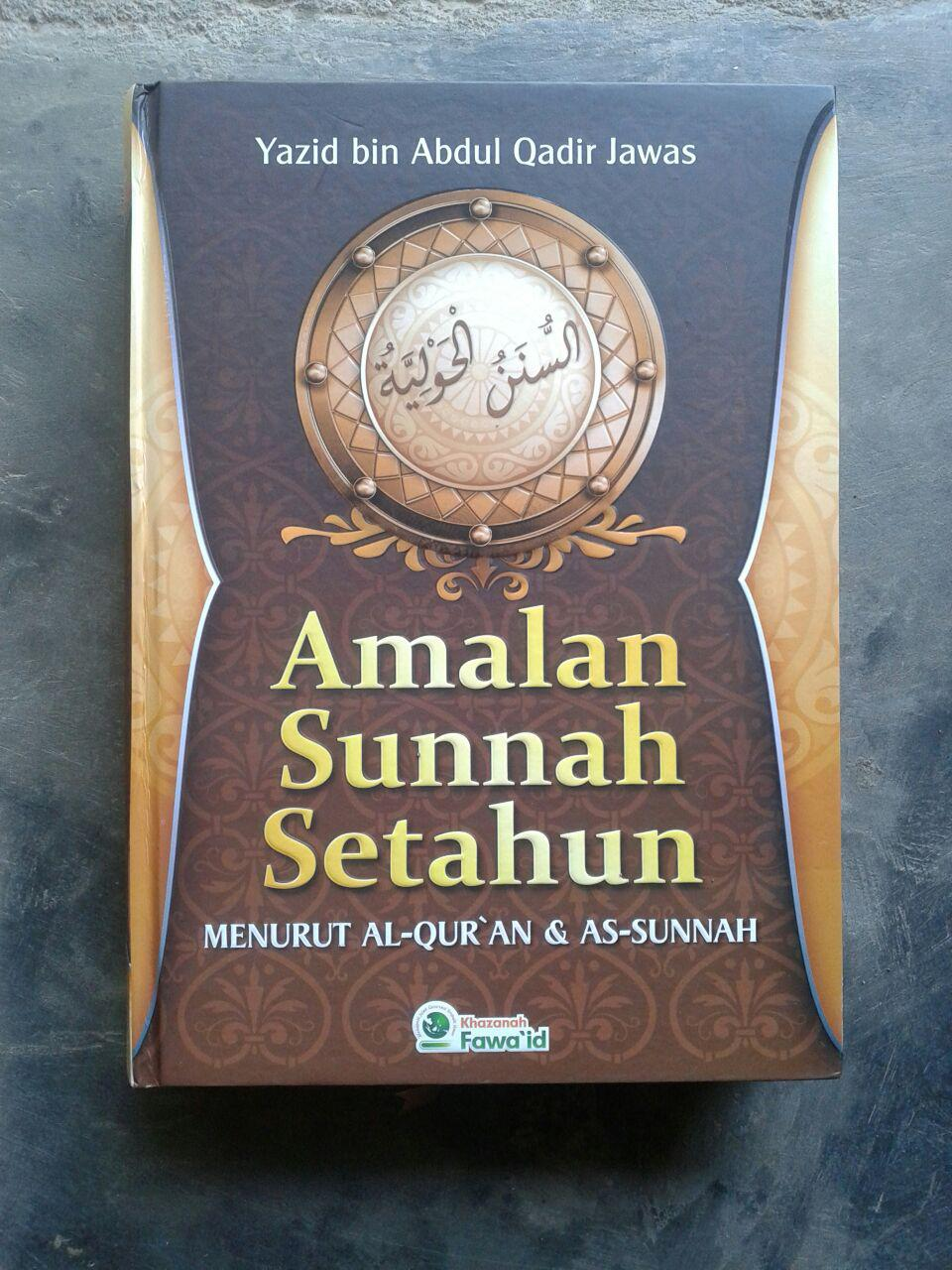 Buku Amalan Sunnah Setahun cover
