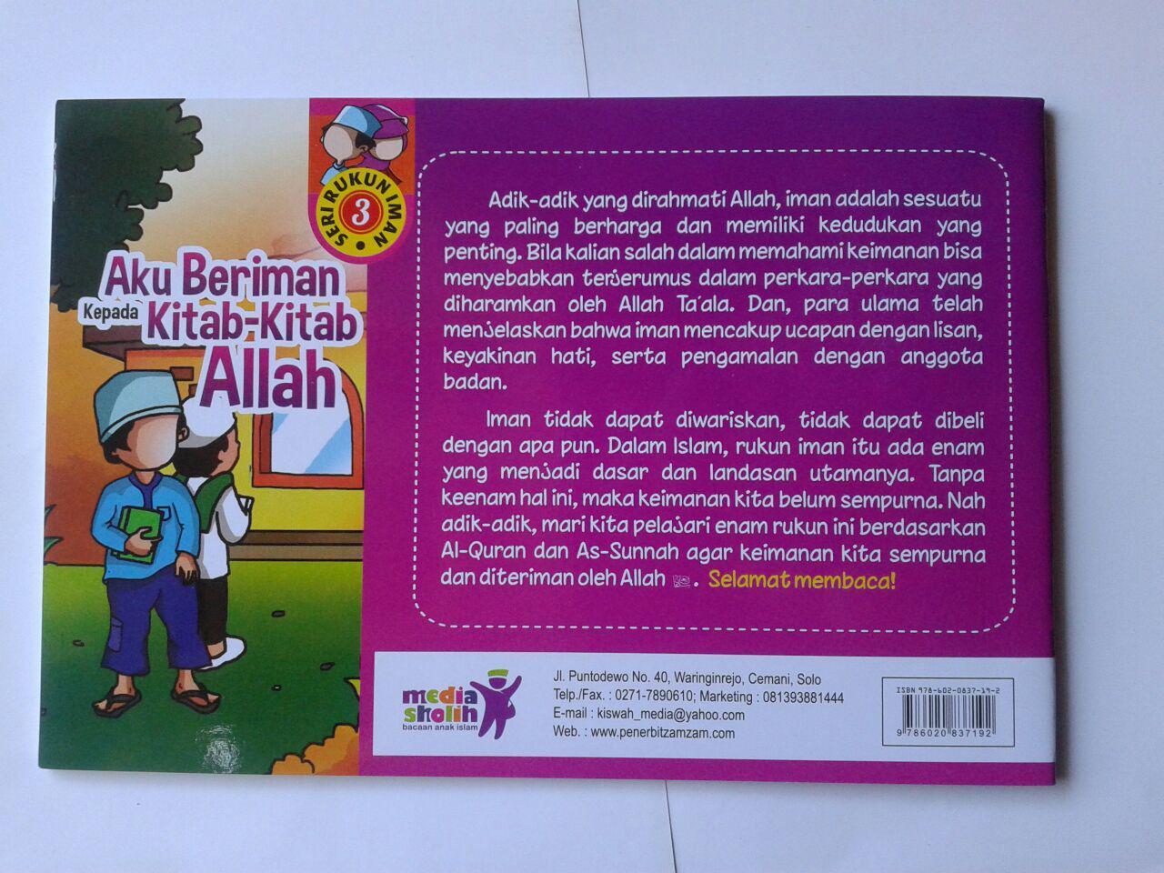 Buku Anak Aku Beriman Kepada Kitab-Kitab Allah cover