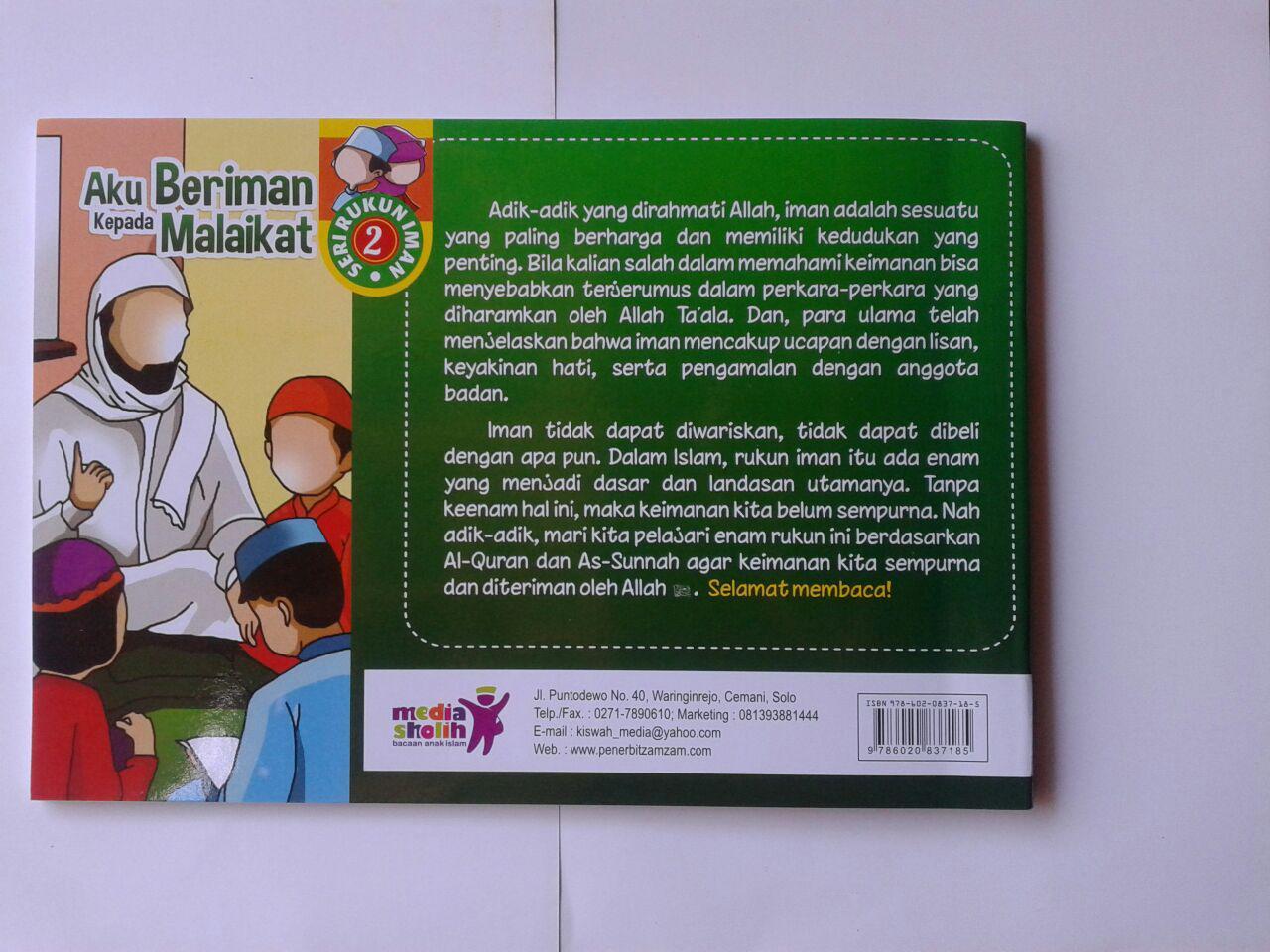 Buku Anak Aku Beriman Kepada Malaikat cover 2