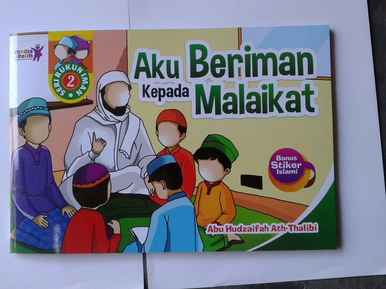 Buku Anak Aku Beriman Kepada Malaikat cover