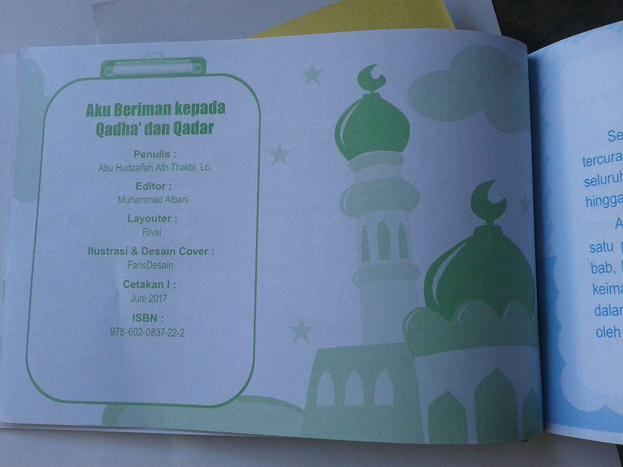 Buku Anak Aku Beriman Kepada Qadha Dan Qadar isi 3