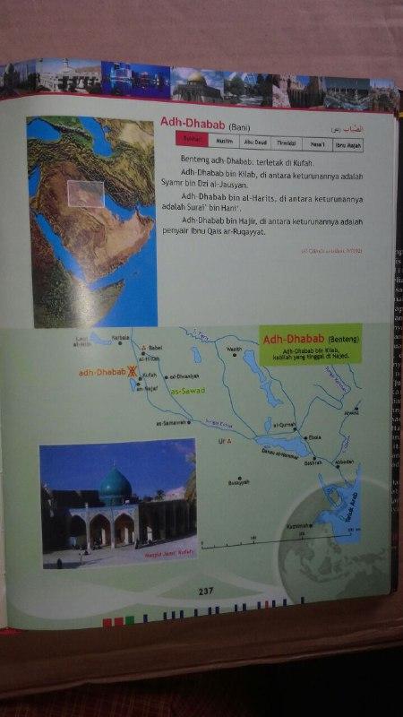 Buku Atlas Hadits Uraian Lengkap Yang Disabdakan Nabi isi