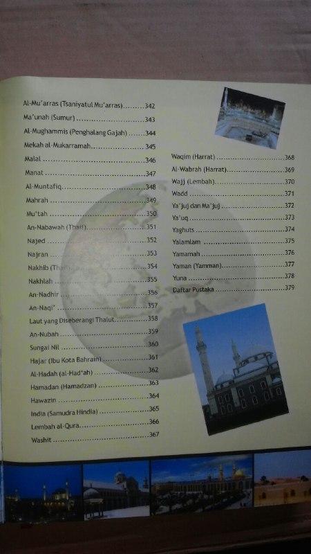 Buku Atlas Hadits Uraian Lengkap Yang Disabdakan Nabi isi 4