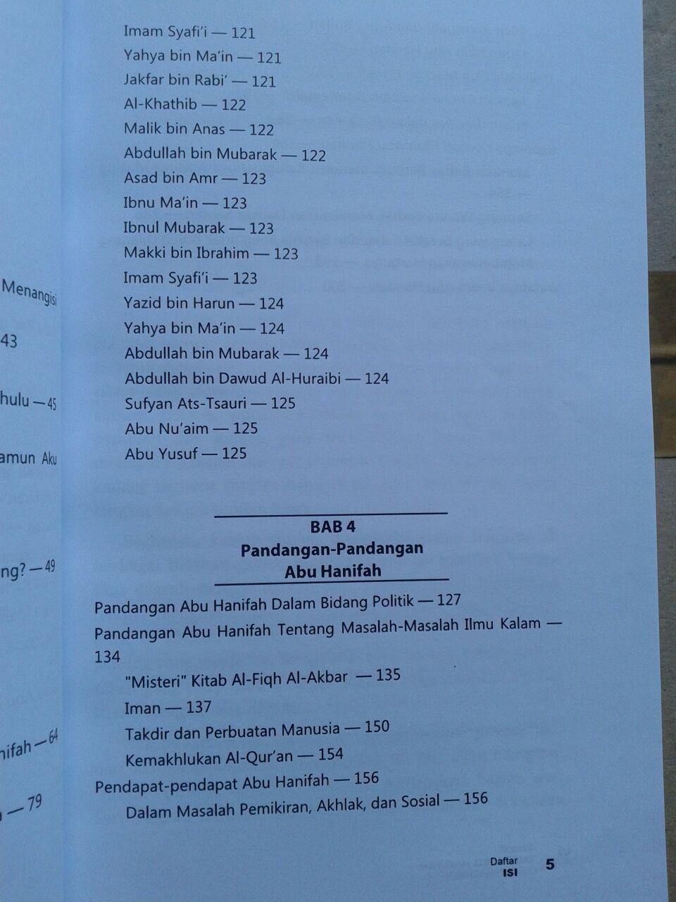 Buku Biografi Imam Abu Hanifah isi 2