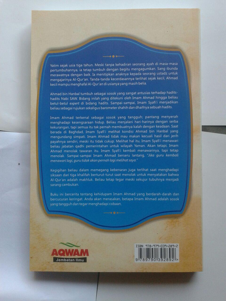 Buku Biografi Imam Ahmad Kehidupan Sikap Dan Pendapatnya cover 2