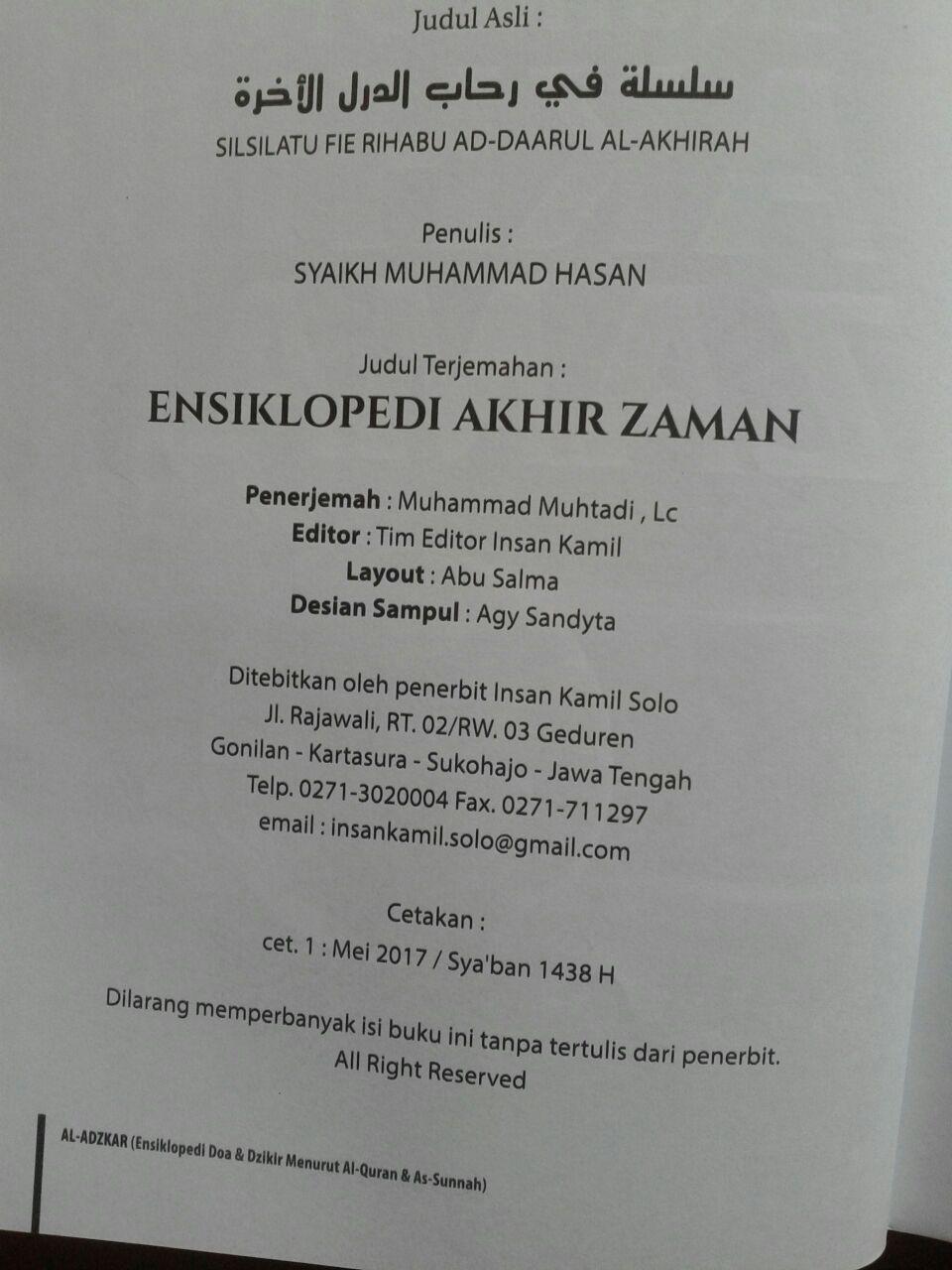 Buku Ensiklopedi Akhir Zaman isi 4