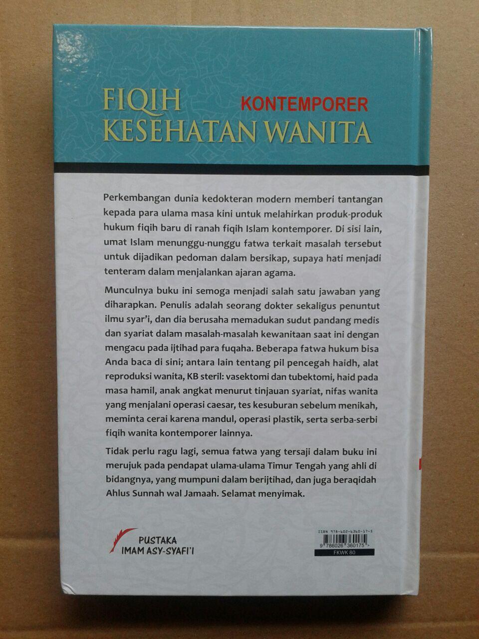 Buku Fiqih Kontemporer Kesehatan Wanita cover 2
