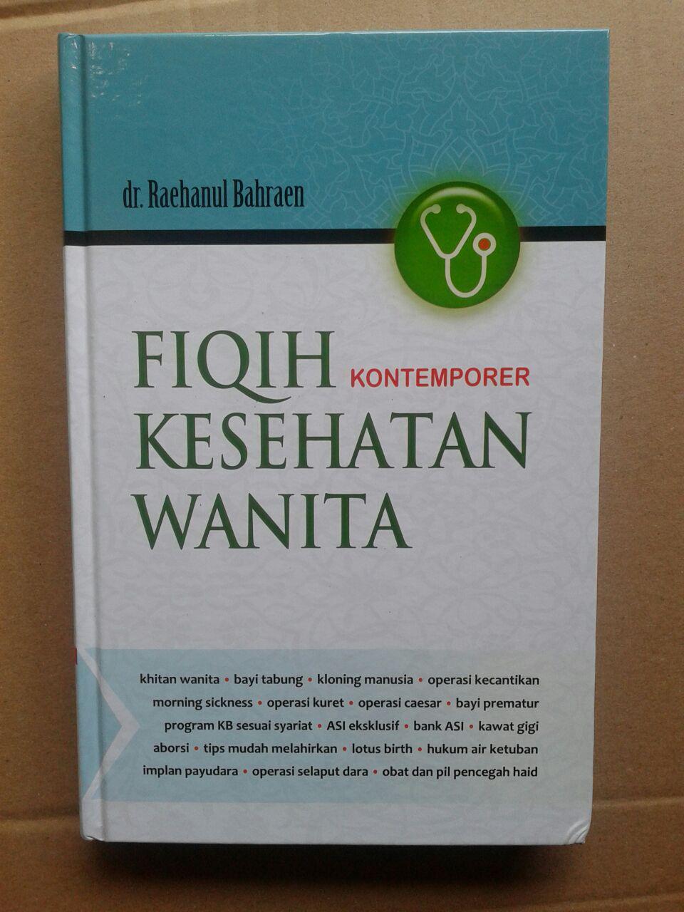 Buku Fiqih Kontemporer Kesehatan Wanita cover