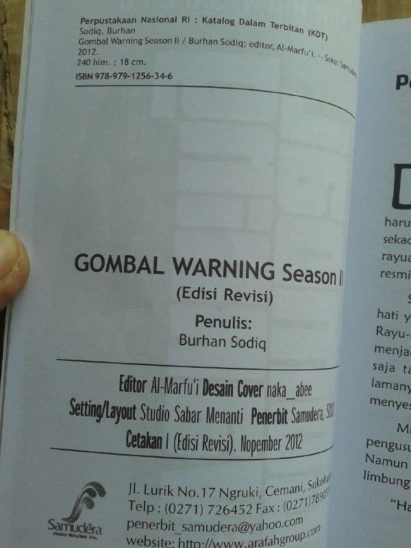Buku Gombal Warning isi 5