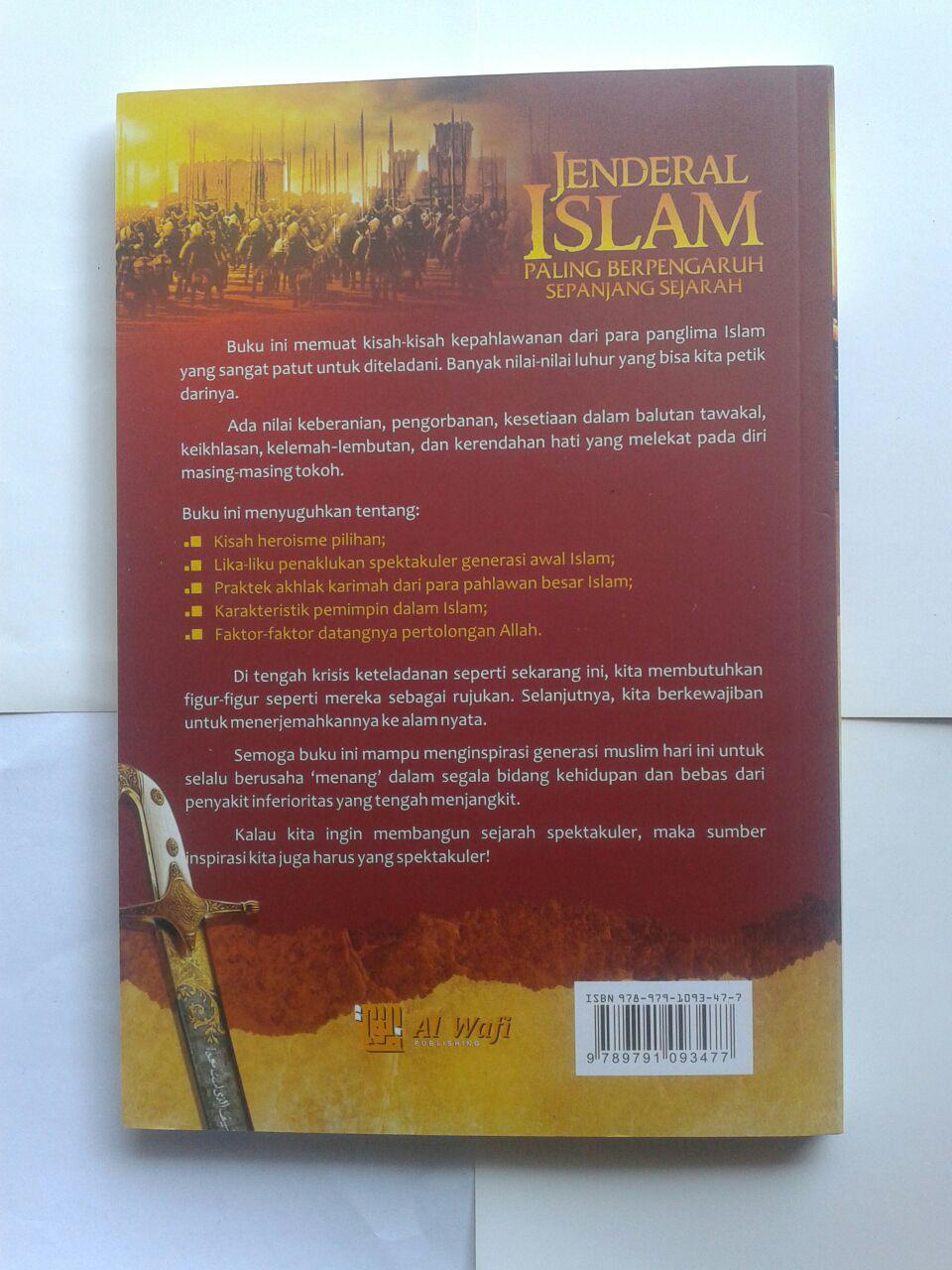 Buku Jenderal Islam Paling Berpengaruh Sepanjang Sejarah cover 2