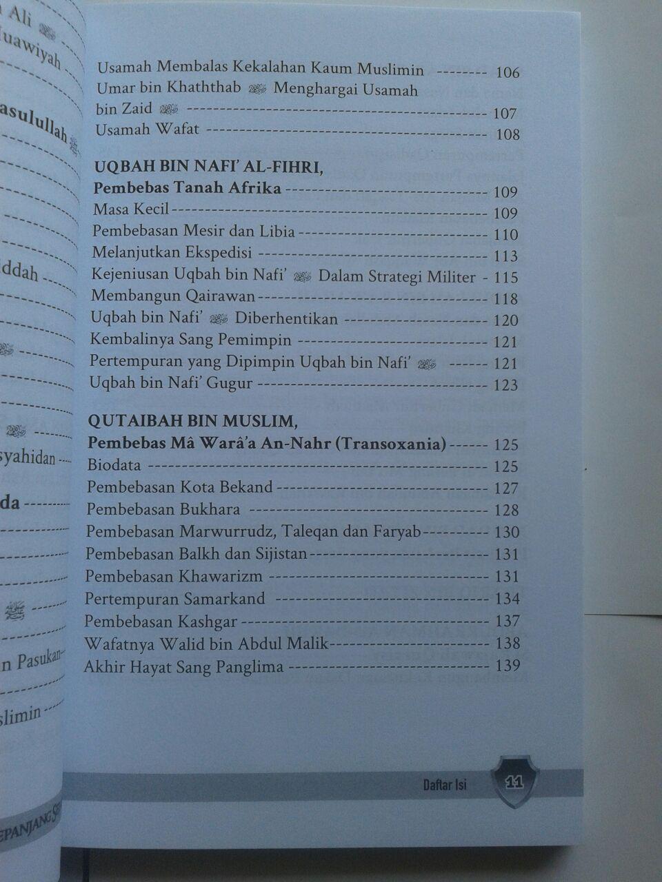 Buku Jenderal Islam Paling Berpengaruh Sepanjang Sejarah isi 3