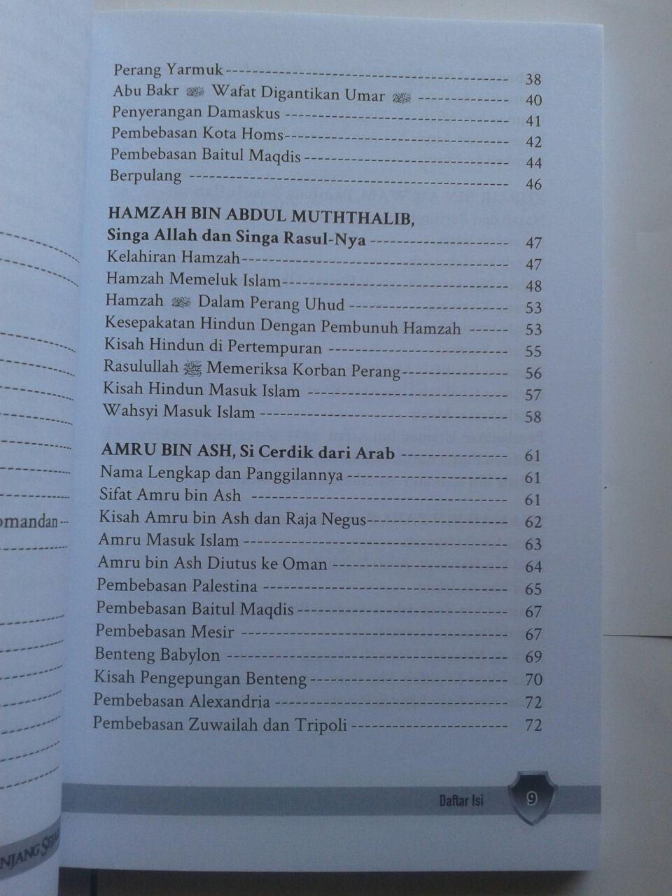 Buku Jenderal Islam Paling Berpengaruh Sepanjang Sejarah isi 4