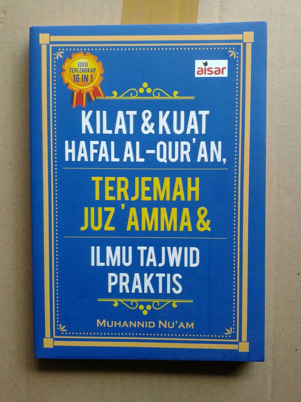 Buku Kilat Dan Kuat Hafal Al-Qur'an Terjemah Juz Amma Tajwid cover