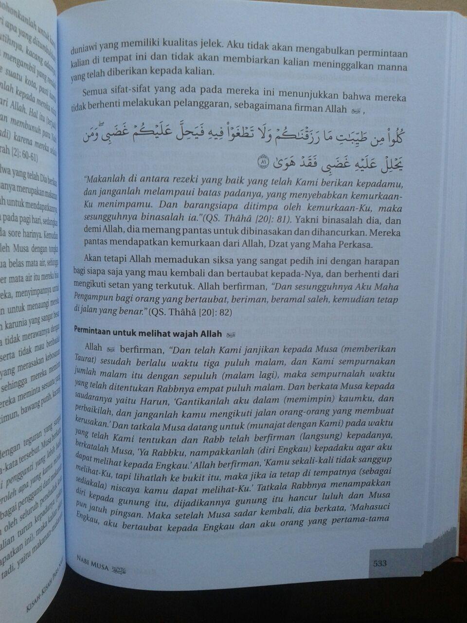 Buku Kisah-Kisah Para Nabi isi