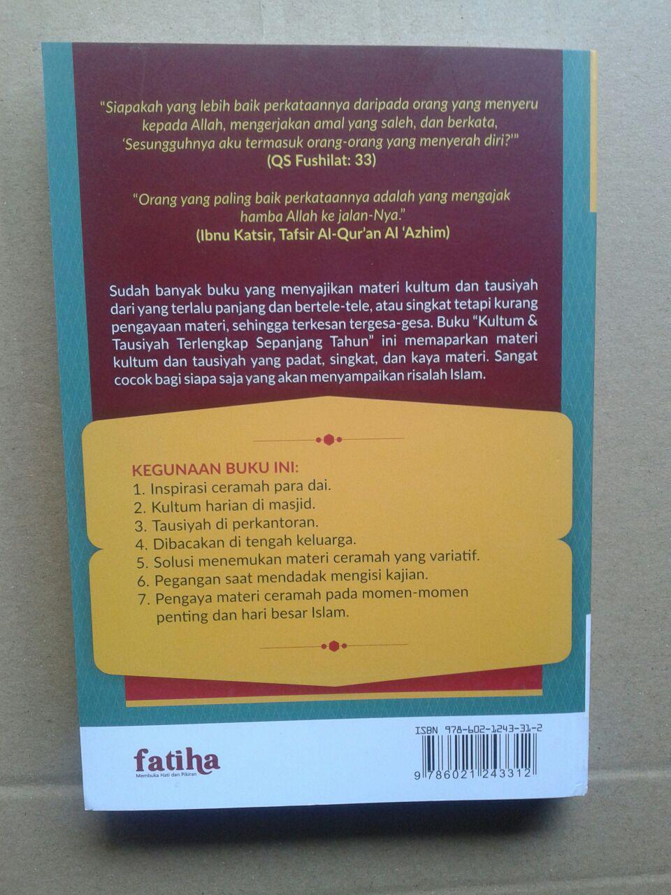 Buku Kultum Dan Tausiyah Terlengkap cover 2