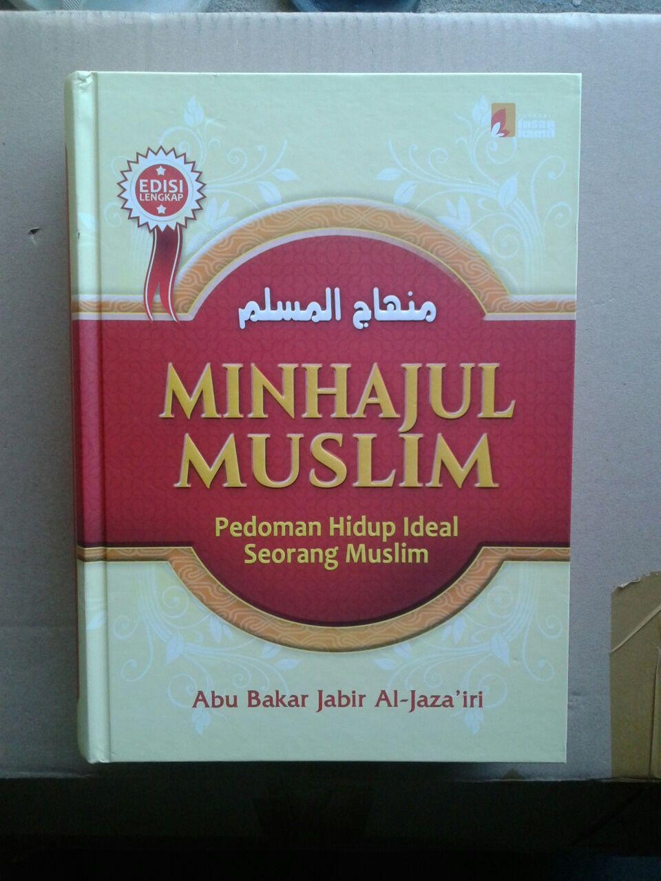 Buku Minhajul Muslim Pedoman Hidup Ideal Seorang Muslim cover