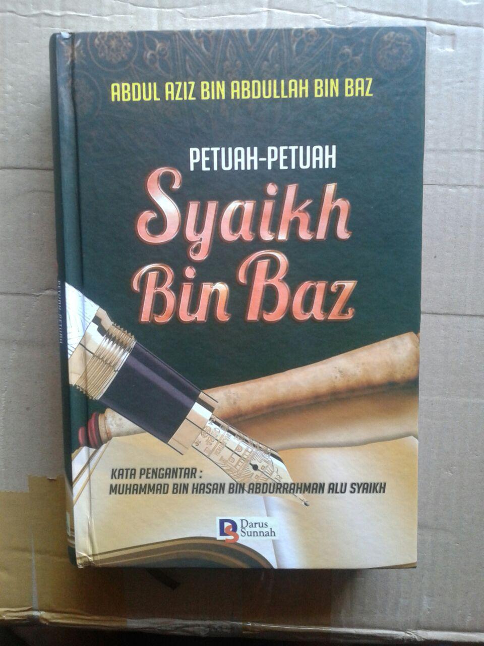 Buku Petuah-Petuah Syaikh Bin Baz cover