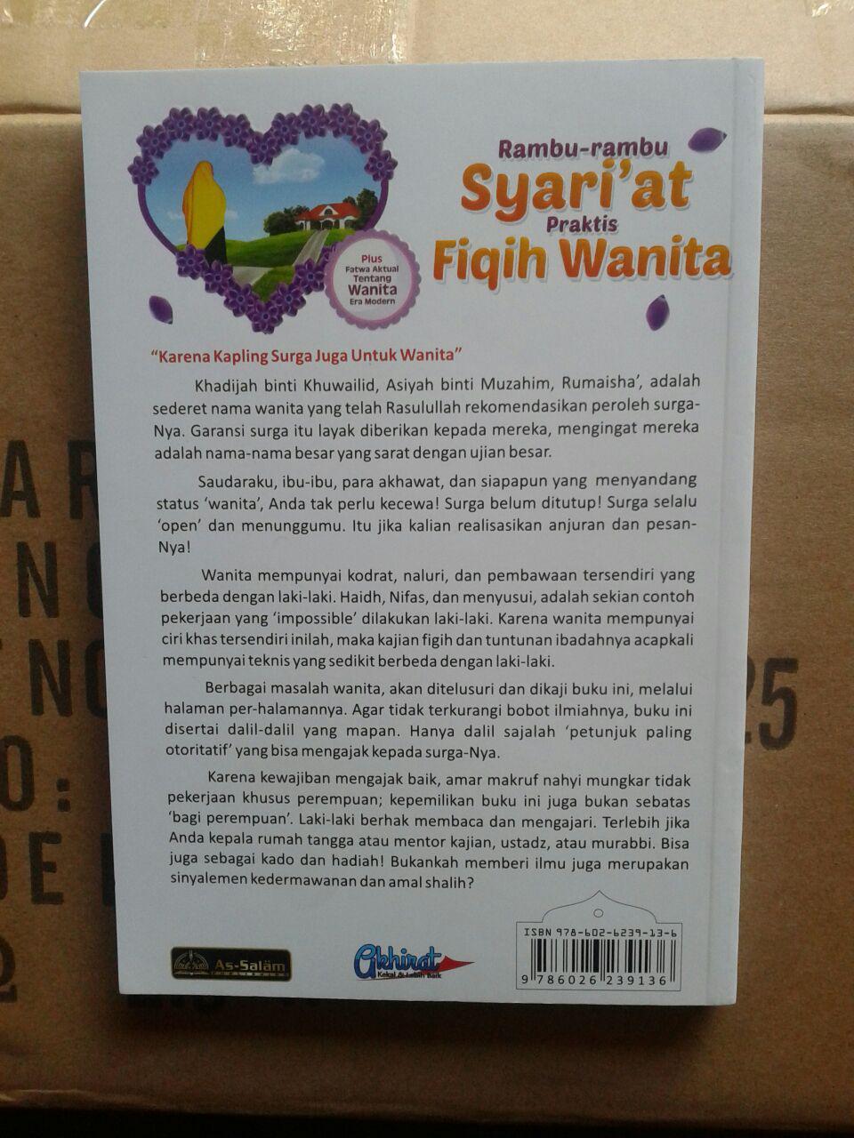 Buku Rambu-Rambu Syariat Praktis Fiqih Wanita cover 2