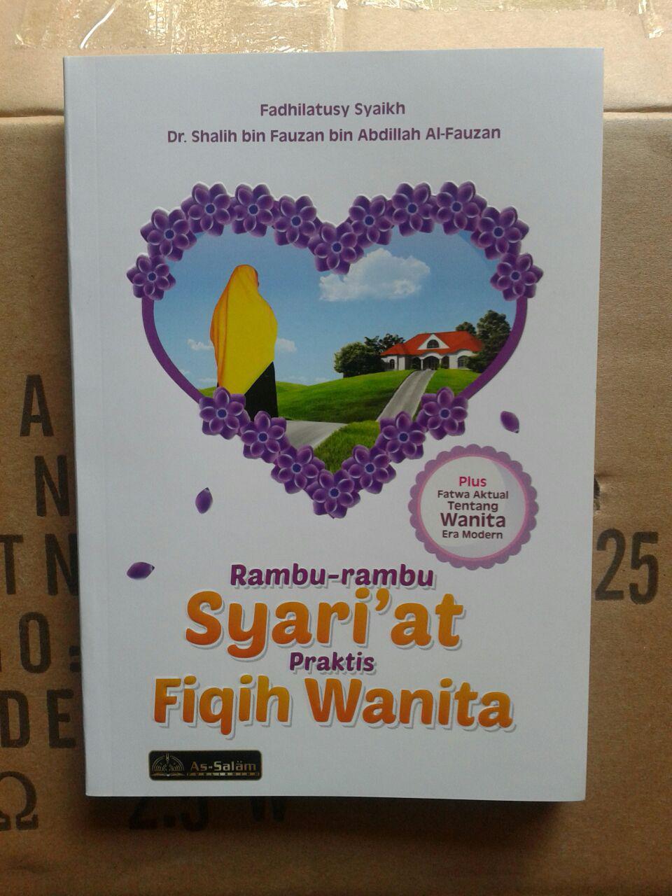 Buku Rambu-Rambu Syariat Praktis Fiqih Wanita cover