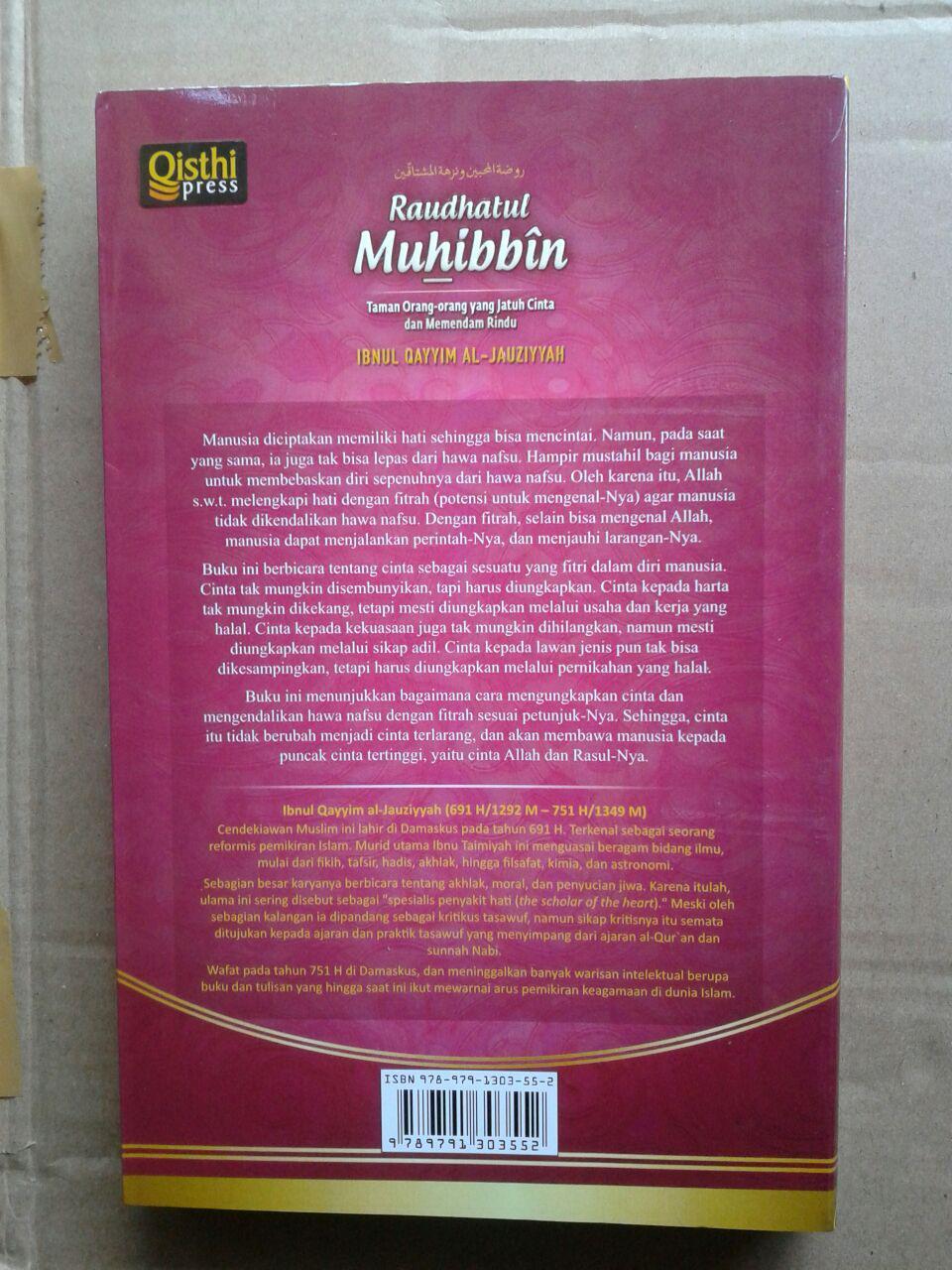 Buku Raudhatul Muhibbin Taman Orang-Orang Jatuh Cinta cover 2